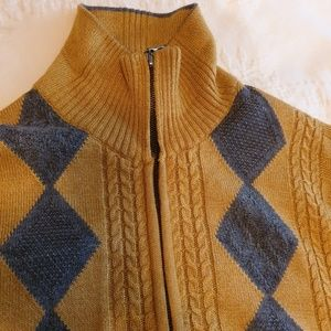 513 Sweaters - MENS ZIPPER FRONT SWEATER